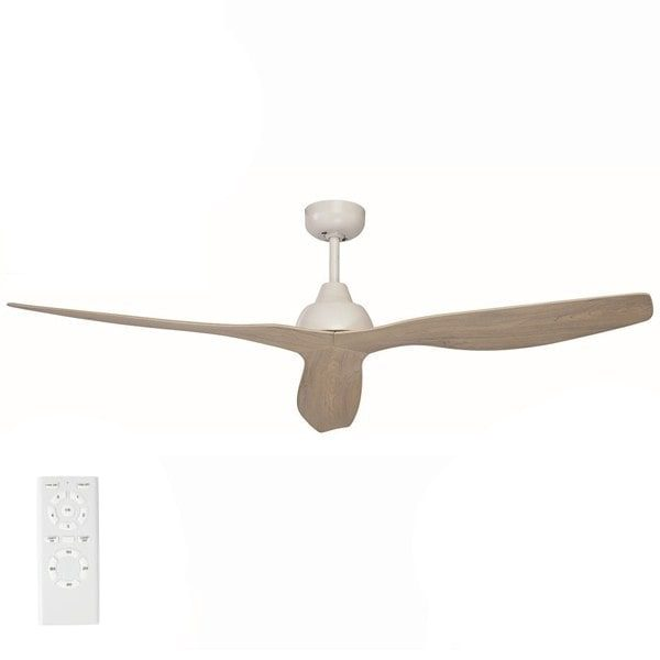 bahama ceiling fan with white wash blades