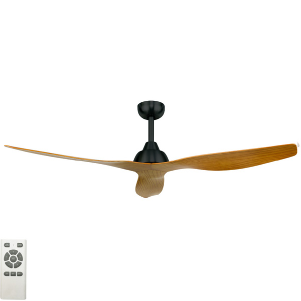 Bahama Ceiling Fan Dc Motor 52 With Remote Charcoal Maple Blades Lumera Living