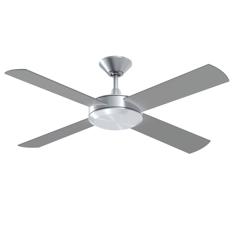 Concept 2 Ceiling Fan 52 Brushed Aluminium Lumera Living