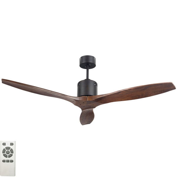 Galaxy II Ceiling Fan: DC Motor 54u2033 With Remote (Antique Bronze)   Lumera  Living