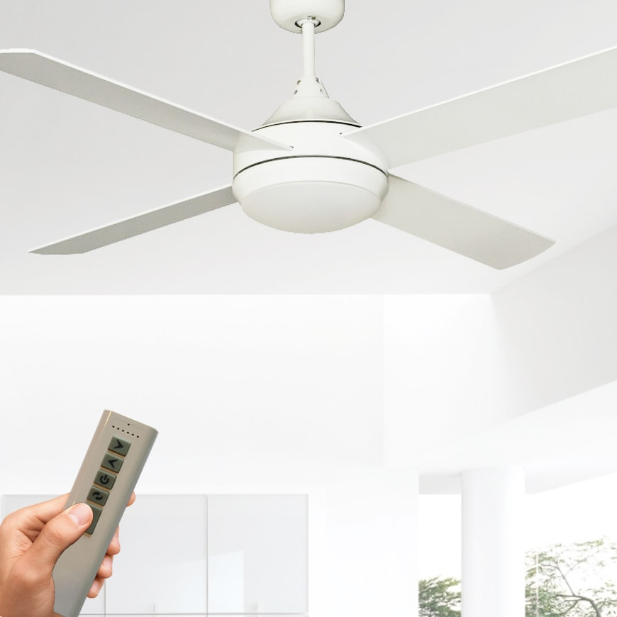 Cinni milano dc ceiling fan with led light and remote lumera living mozeypictures Gallery