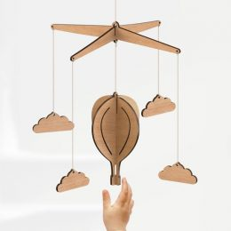 baby mobile hot air balloon