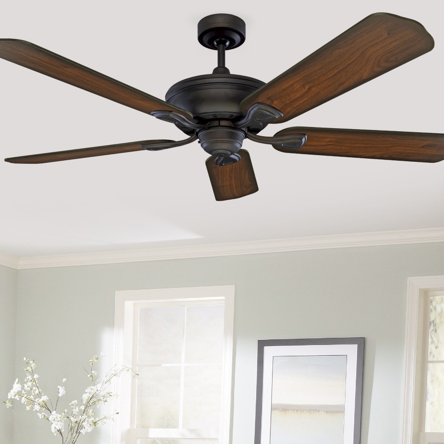 Traditional mercator healey ceiling fan 52 bronze lumera living aloadofball Gallery