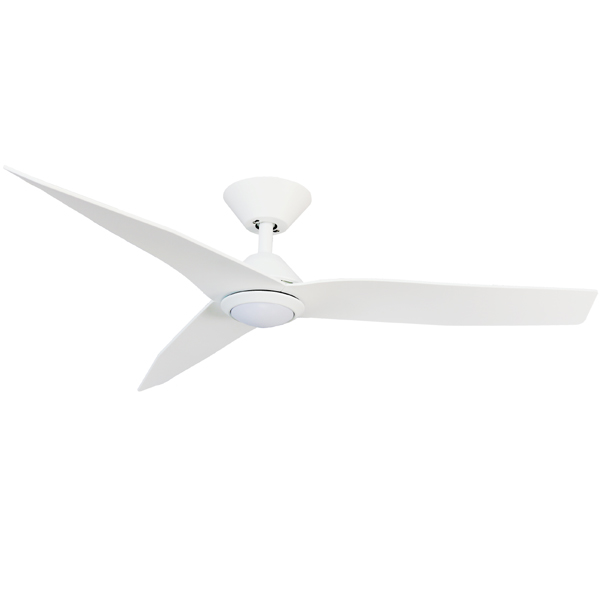 Low Profile Infinity Ceiling Fan With Led Light White 48 Quot
