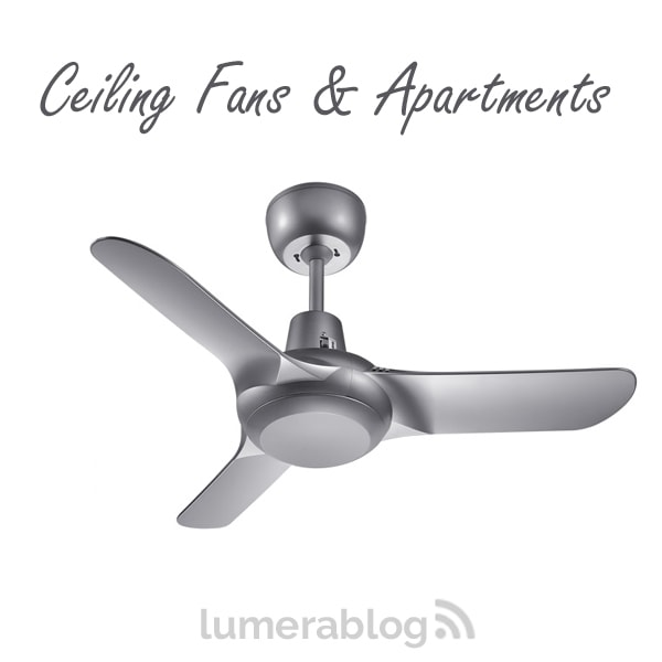 ceiling fan apartment