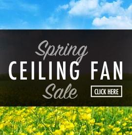 spring ceiling fan sale