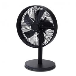 drum-desk-fan-black