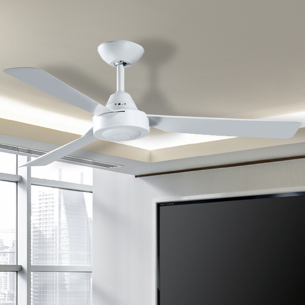 Manzer ii ceiling fan 48 white lumera living previous next mozeypictures Choice Image