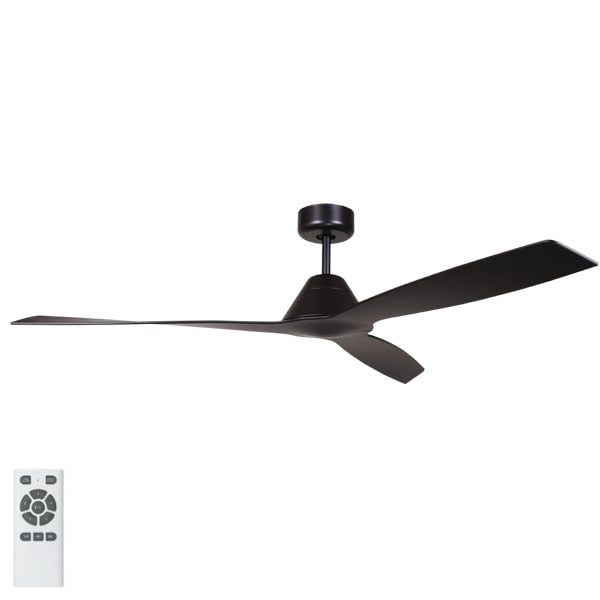 Eco Breeze Ceiling Fan In Black 52 Lumera Living Australia