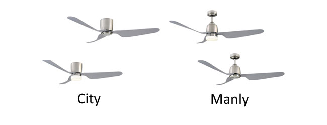 Stylish Ceiling Fans Mercator City Manly