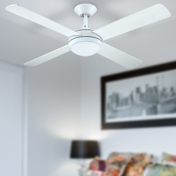 hunter pacific white intercept 2 ceiling fan