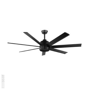 black tourbillion ceiling fan