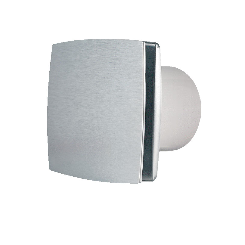 Chico Exhaust Fan 150mm Brushed Aluminium Lumera Living