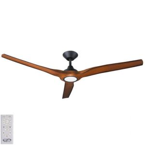Radical DC Ceiling Fan with LED Light – Koa