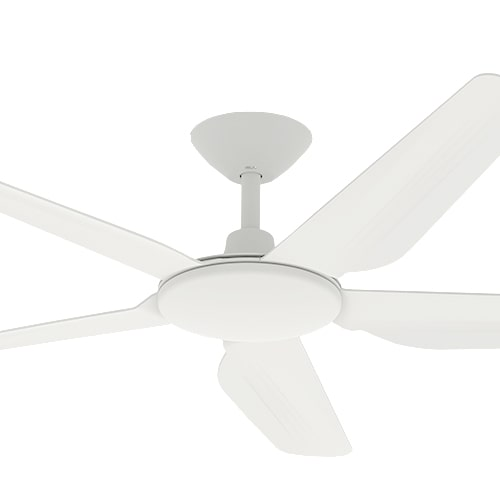 storm dc ceiling fan white 52 inch