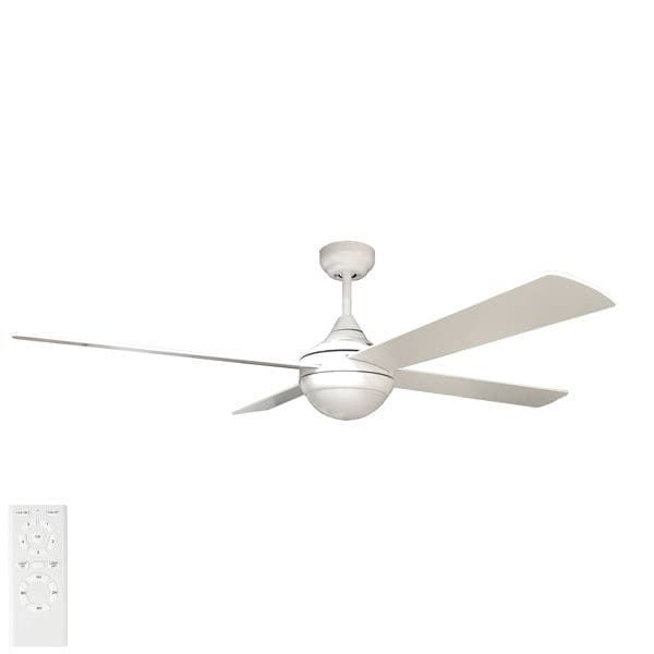 tempo ceiling fan white with light
