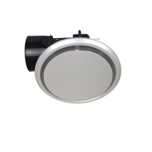 mercator novaline round silver exhaust fan