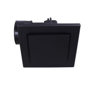 mercator novaline square black exhaust fan