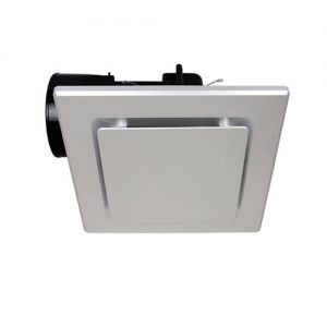 mercator novaline square silver exhaust fan