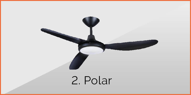 polar ceiling fan