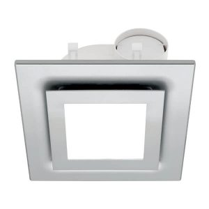 starline silver square ceiling exhaust fan led