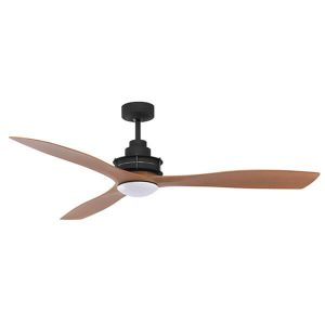 Clarence Ceiling Fan LED Mercator Oil Rubbed Bronze Dark Timber