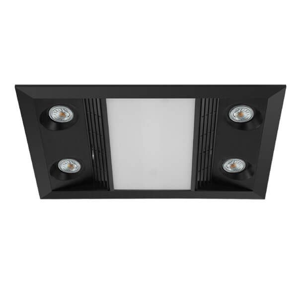 Inferno 3 in 1 exhaust fan black