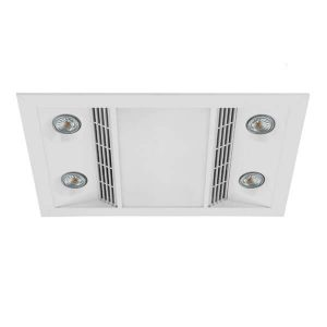 Inferno exhaust fan with het and light